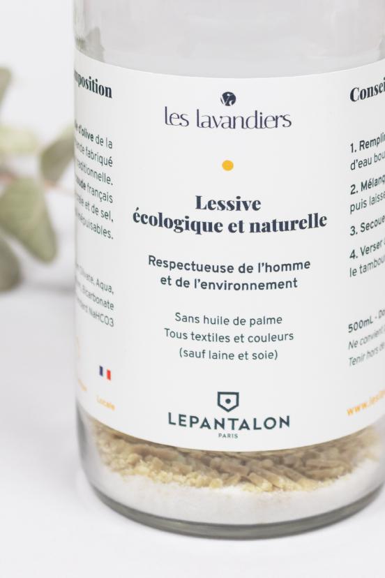 Kit lessive écologique et naturelle