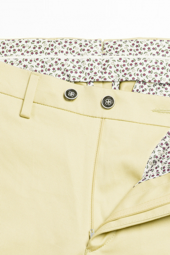 Pastel Yellow Chinos